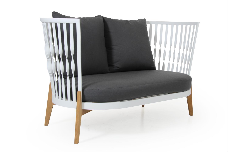 Fernie soffa 2-sits vit med dyna Brafab