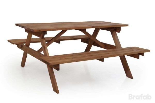 Sandhamn picnicset 149x71 cm brun Brafab