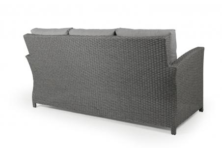 Soho soffa 2-line 3-sits  grå med dyna Brafab