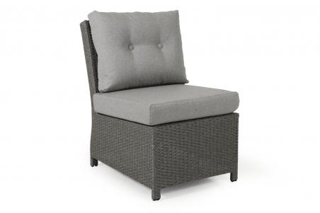 Soho soffa 2-line mitt grå med dyna Brafab