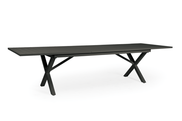 Hillmond matbord svart 240/310x100 H75 Brafab