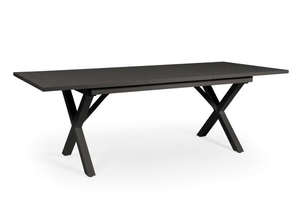 Hillmond matbord svart 160/220x100 H75 Brafab