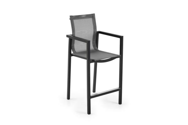 Belfort barstol svart/grå Brafab